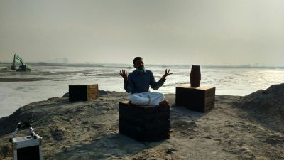 Screen grab from the Chennai Poromboke Paadal ft. TM Krishna